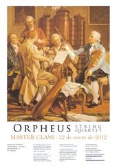 Master Class Orpheus String Quartet