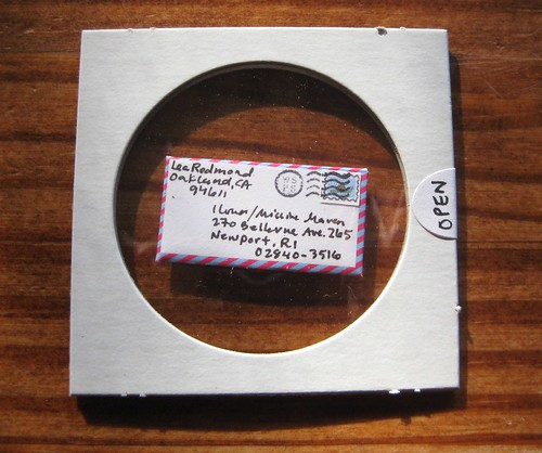 Special WSPS letter, sealed in its case