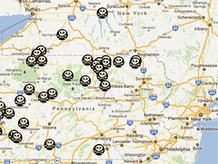 Fracking Accident Map