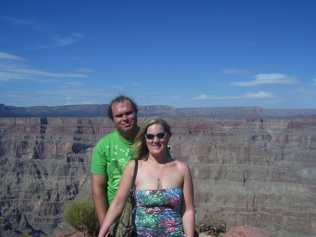Andy and Jess at the Grand Canyon