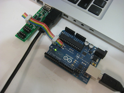 Bootloading an Arduino w/ the TinyProgrammer