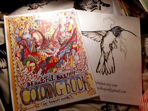 beautiful bat coloring book