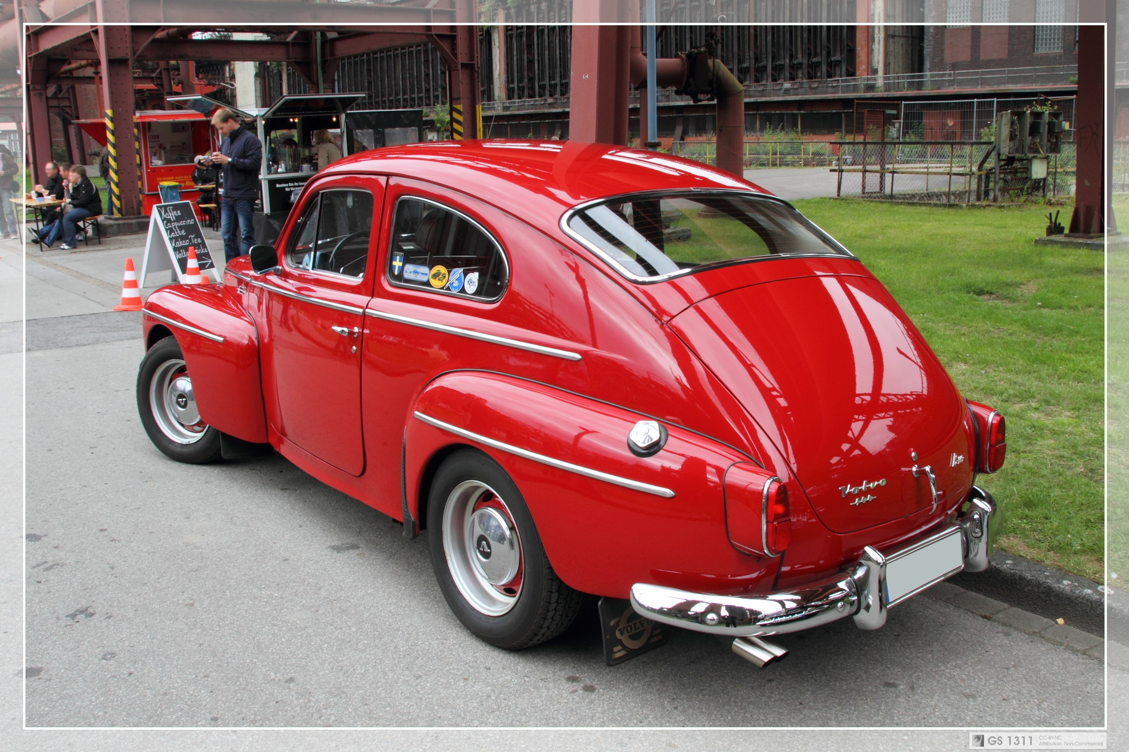 Engine And Transmission World >> 1961 Volvo PV544 (02) | Flickr - Photo Sharing!