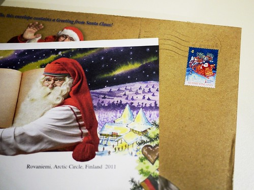 christmas stamp from finland by migi328