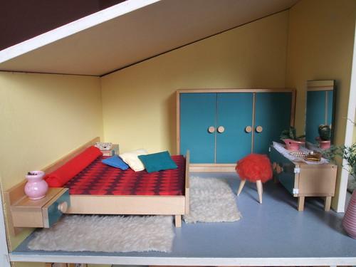 1965 - 1968 Bodo Hennig Schlafzimmer
