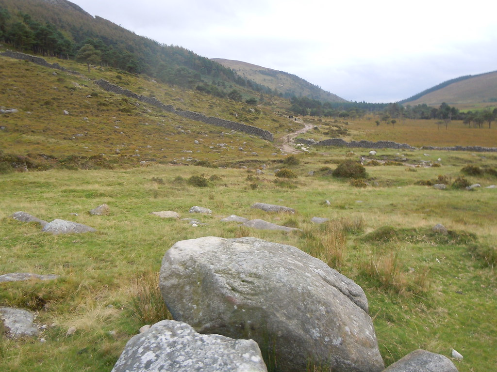 Mourne mountains camping