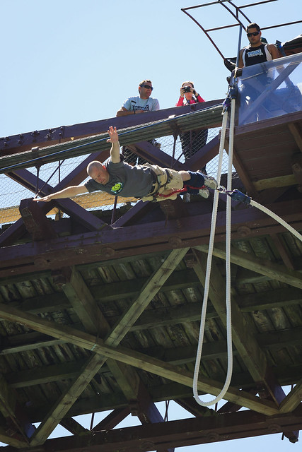 6518567003 86361304b6 z Frame by Frame: The Anatomy of a Bungy Jump