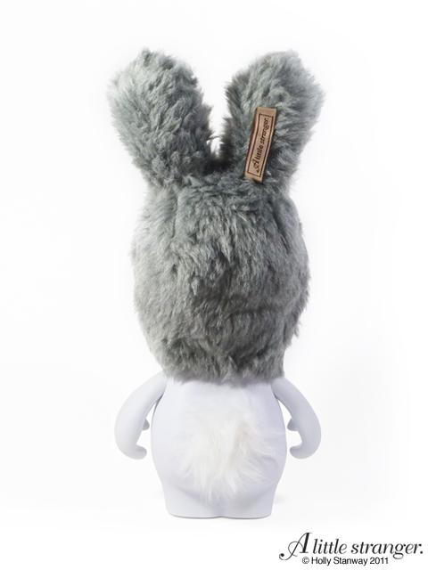 Grey Fancy Snow Bunny