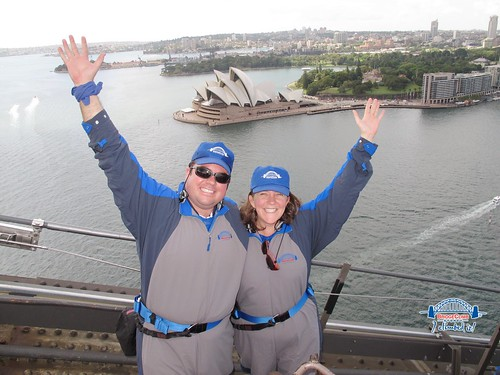Rick and me on the BridgeClimb