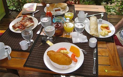 belize typical breakfast stuffed fried jacks