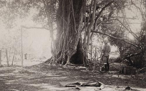 A 2 KAR location in the East African bush
