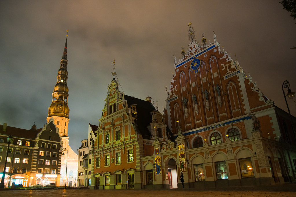 Old city. Riga.