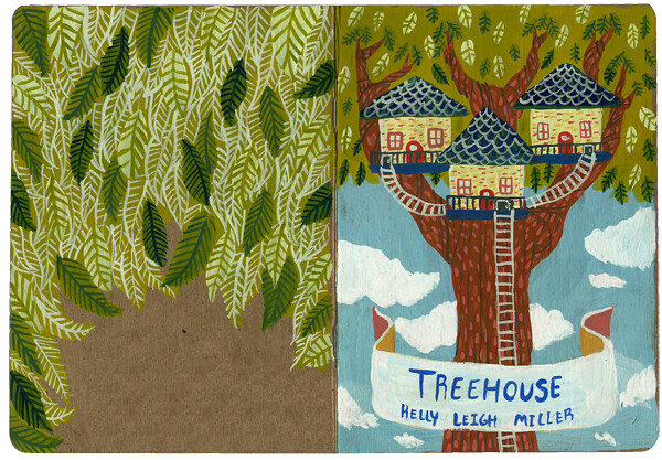 Treehouse painting cover