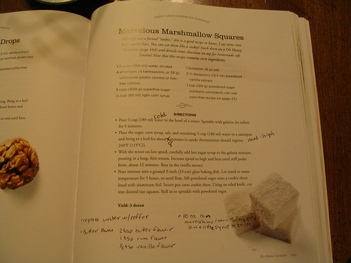 Butter Rum Marshmallows