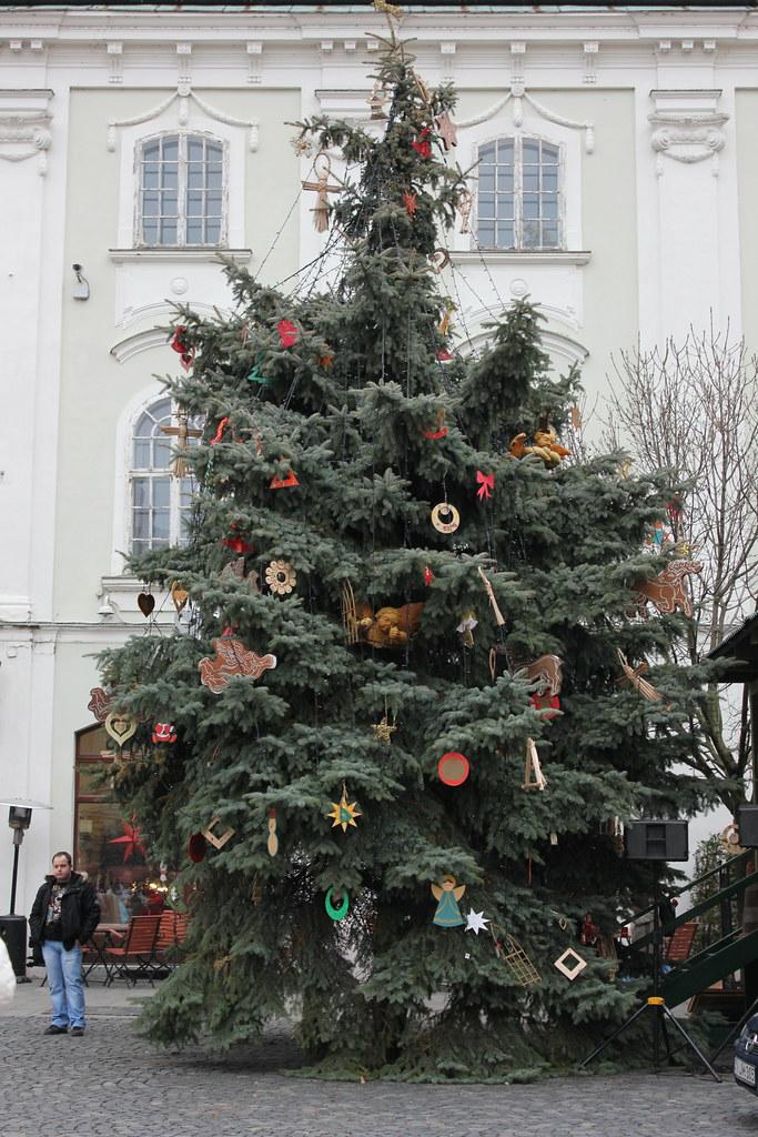 Árbol de Navidad en Székesfehérvár