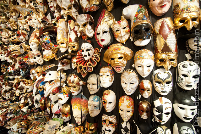 Masks Store in Venice