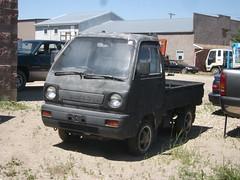Suzuki Carry kei truck