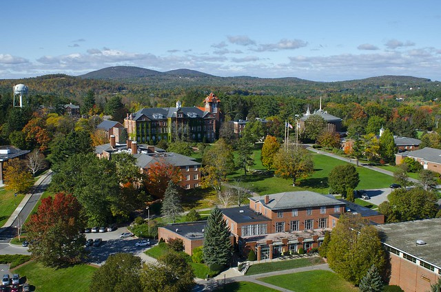 Saint Anselm College, as seen from above
