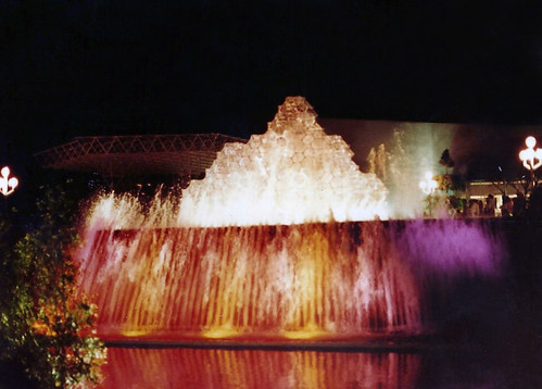 EPCOT Center Imagination Pavilion Fountain