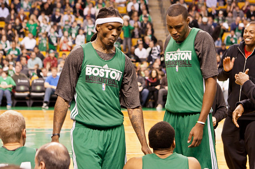 Boston Celtics open practice 12/16/11 @ TD Garden, Boston, MA