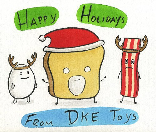 Happy Holidays from DKE by Dan Goodsell 2011