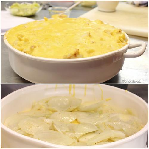 parmigiana verdure con fonduta tartufo