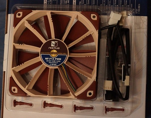 Noctua NF F12 PWM Focused Flow ventiliatorius