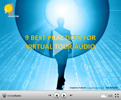 Best practices for creating virtual tours with great, professional audio