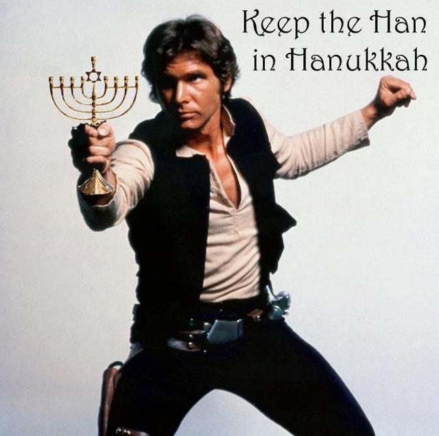 Han Solo's Hanukkah