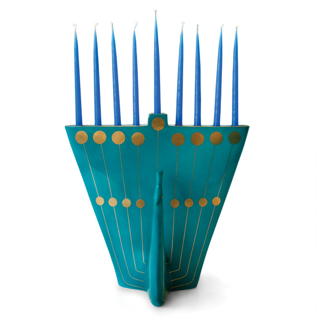 menorah_peacock_teal
