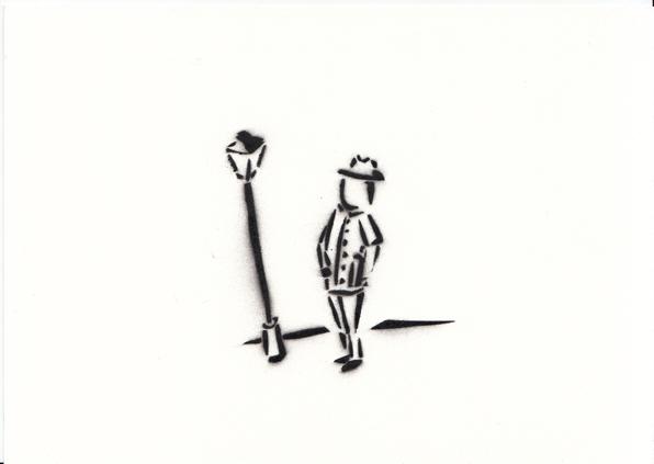 un homme avec un chapeau