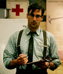 jon hamm sucker punch suspenders glasses drollgirl