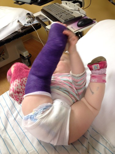 Purple cast!