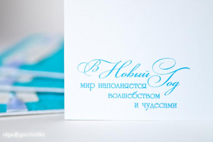 Конверты для новогодних мини-фотосессий. Морозное Рождество
