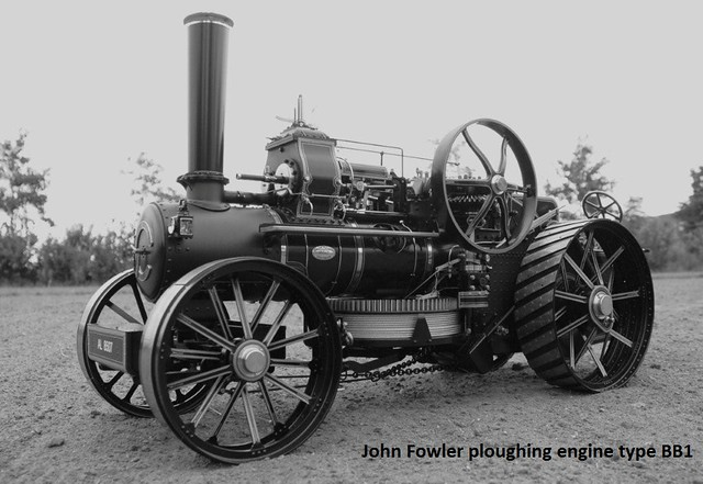 Jan Huijgen _ John Fowler ploughing engine type BB1 scale 1:8