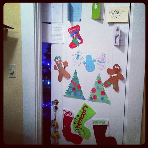 The Christmas Door