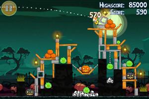 Angry Birds Seasons Rio on BlackBerry PlayBook