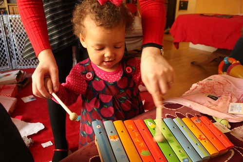 A is for Apple Dress: Xylophone View