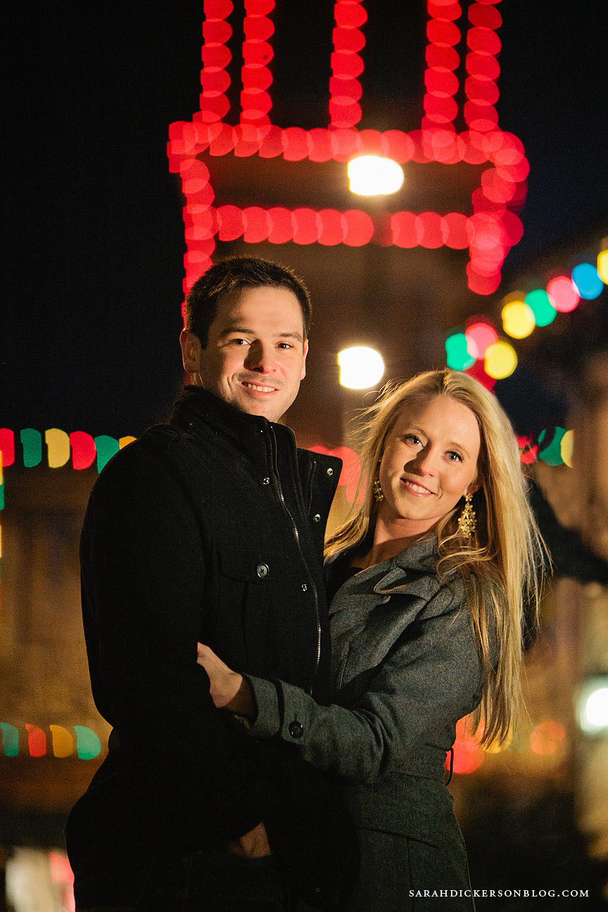 Country Club Plaza Kansas City engagement photographers