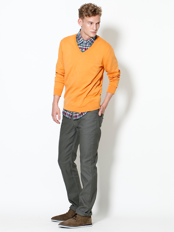 UNIQLO EARLY SPRING STYLE FOR MEN 2012_002Alexander Johansson