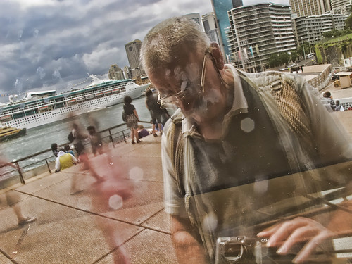 Opera house reflection (1).