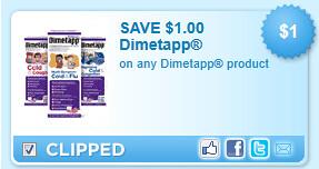 Dimetapp Product Coupon