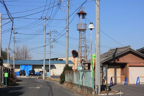領家の火の見櫓(上尾市)