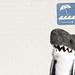 Ed Shark - Wall at beach by Ed Shark