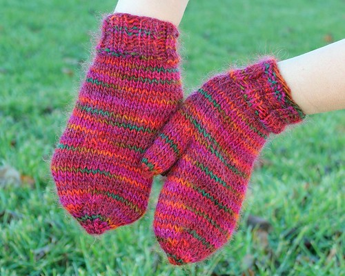 Arc Mittens - Backs