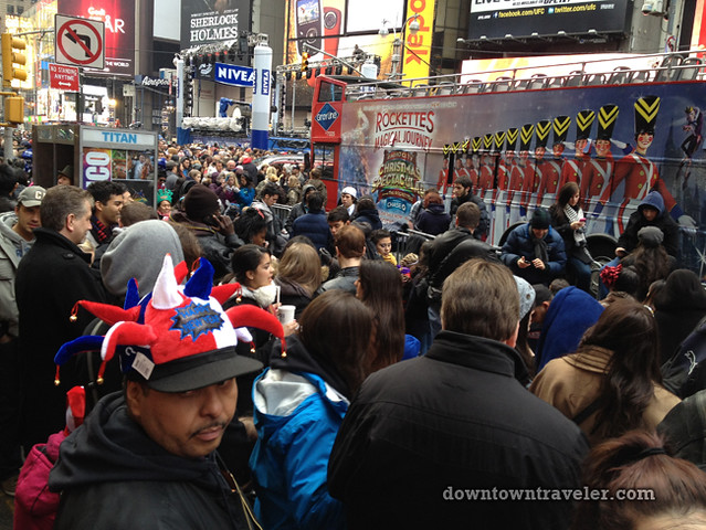 NYC Times Square New Years Eve 2012_revelers