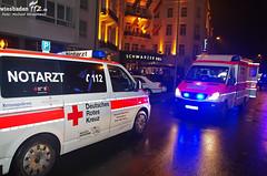 Sturz aus Gebäude Kranzplatz 1.1.12