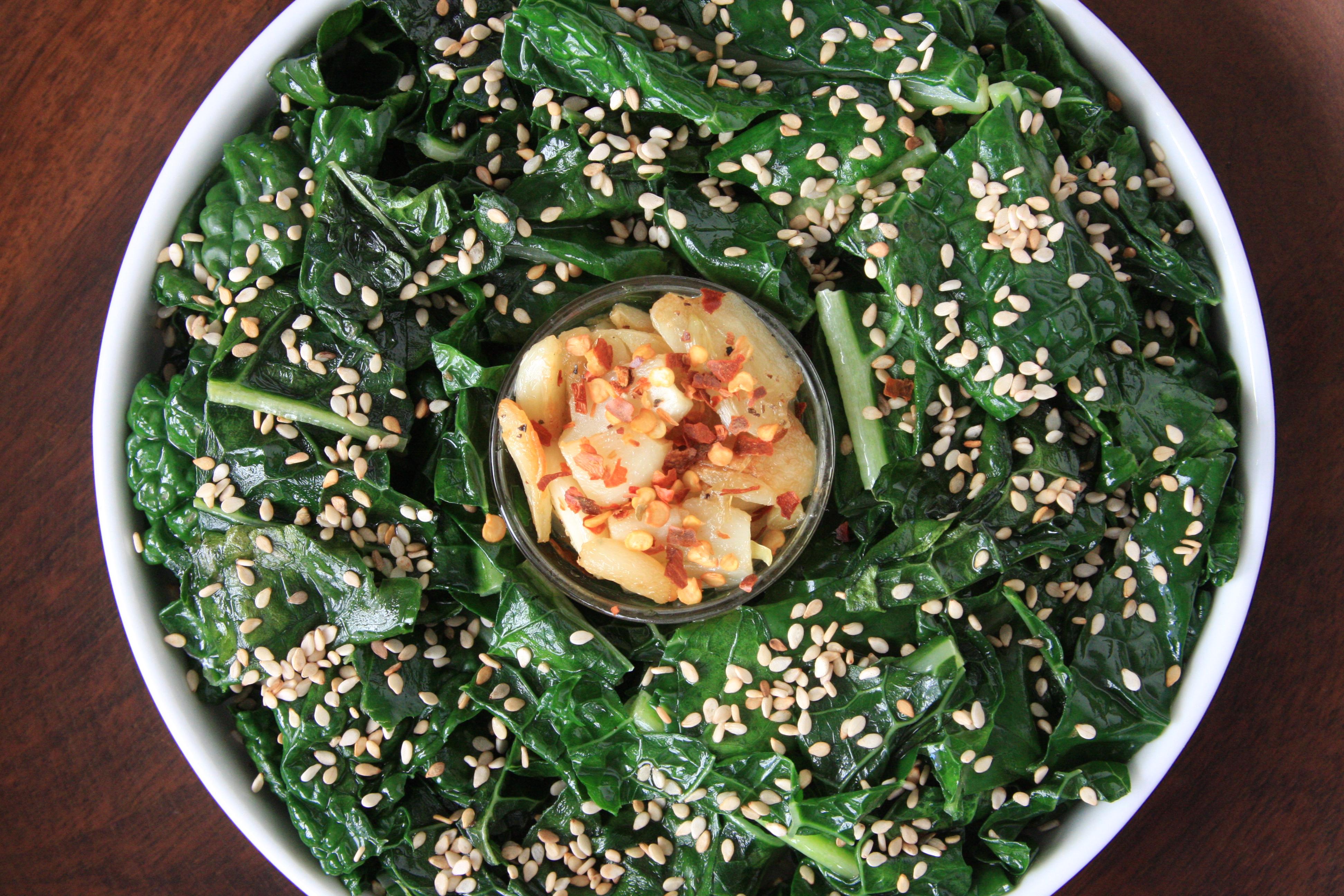 Garlicky Lacinato Kale