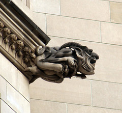 Gargoyle 07 - west facade - National Cathedral - DC