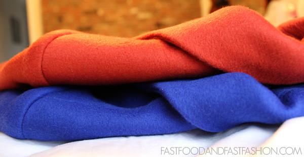 j crew plaza coat radio red cobalt blue